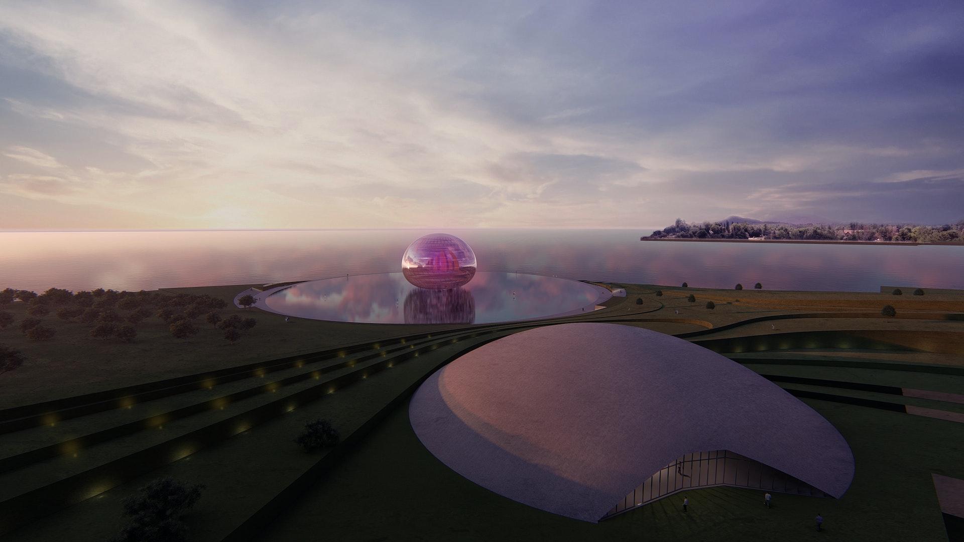 Qianhai landmark 前海地标设计