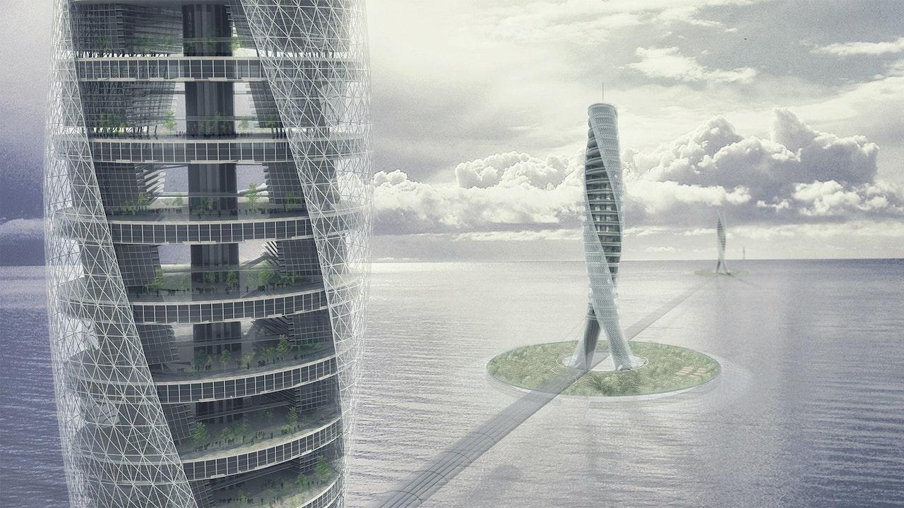 Evolo skyscraper of the future