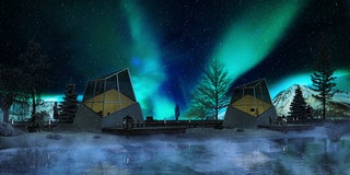 Northern light houses