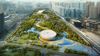 2022 Asian games sports park (winning proposal)