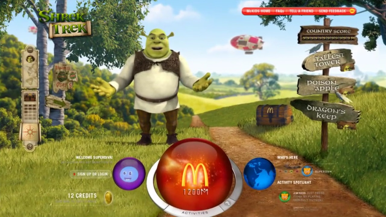 McDonald's - Shrek's Treketh to Adventure