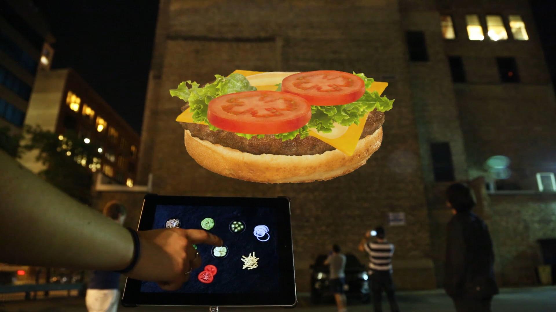McDonald's - Giant Virtual Burger Builder