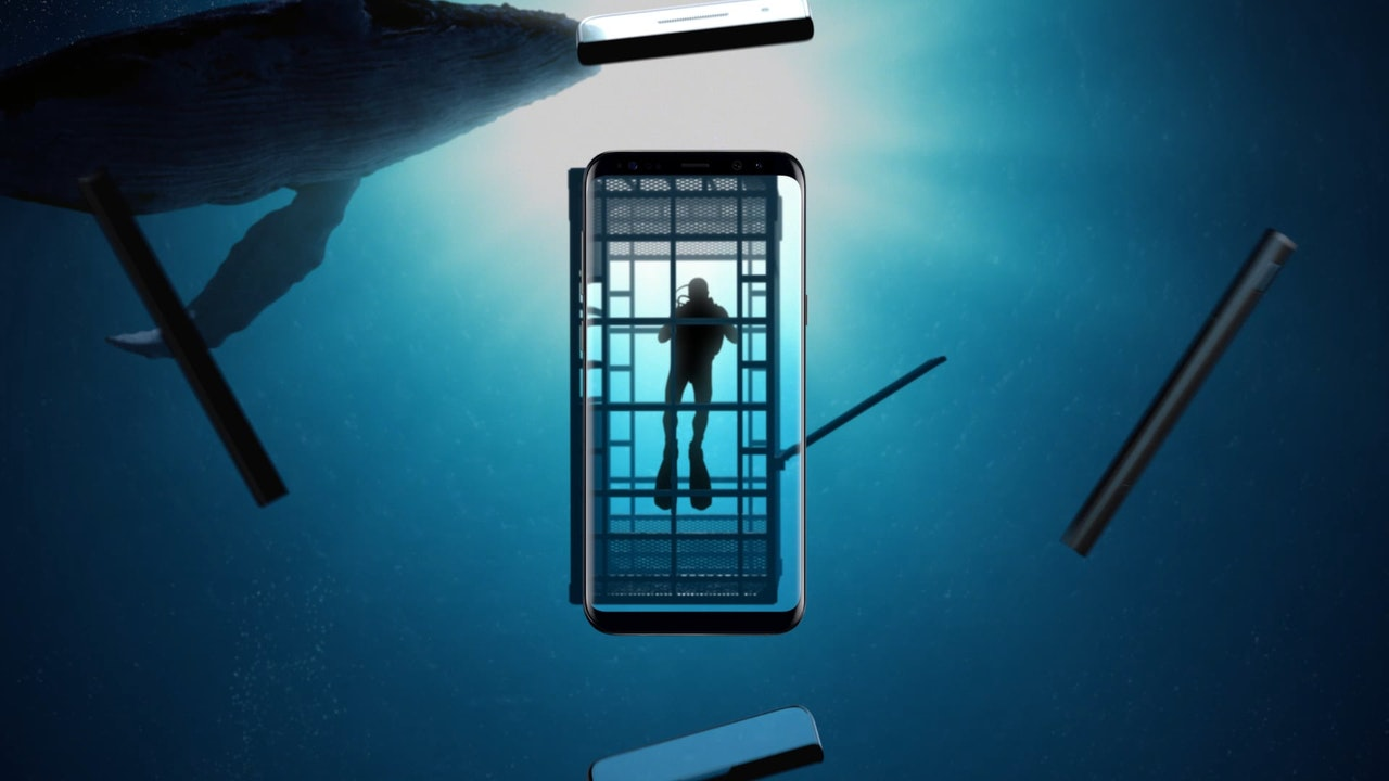 Samsung S8 - Diver