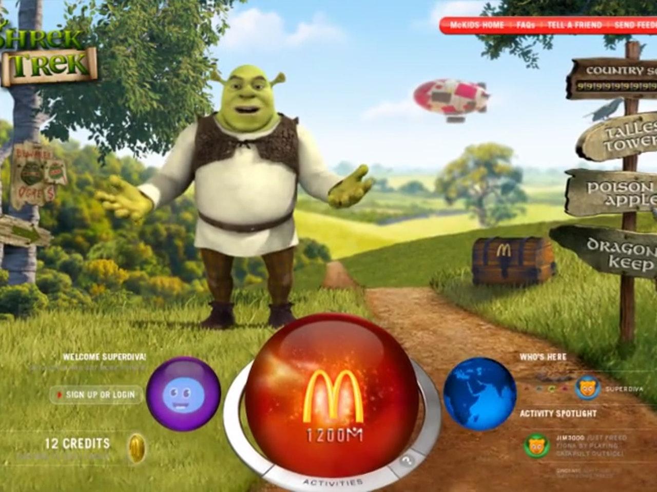 Shrek' Treketh to Adventure!