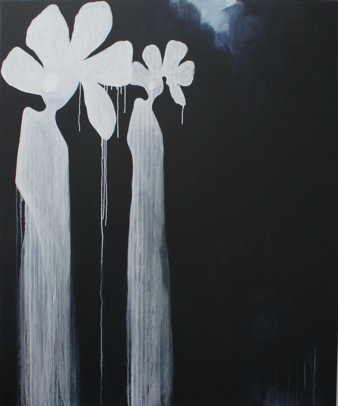 Hoodoos-2016-150x180cm-Acrylic-on-Kerringbone-Linen-Kelly-Sweeney