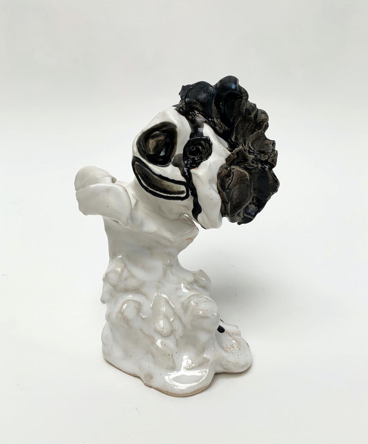 Clown-Thing-2019-Ceramic-(Draycott)-14cm-height