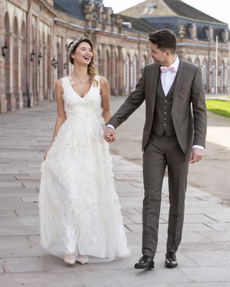 Hochzeitsfoto authentisch Mannheim -