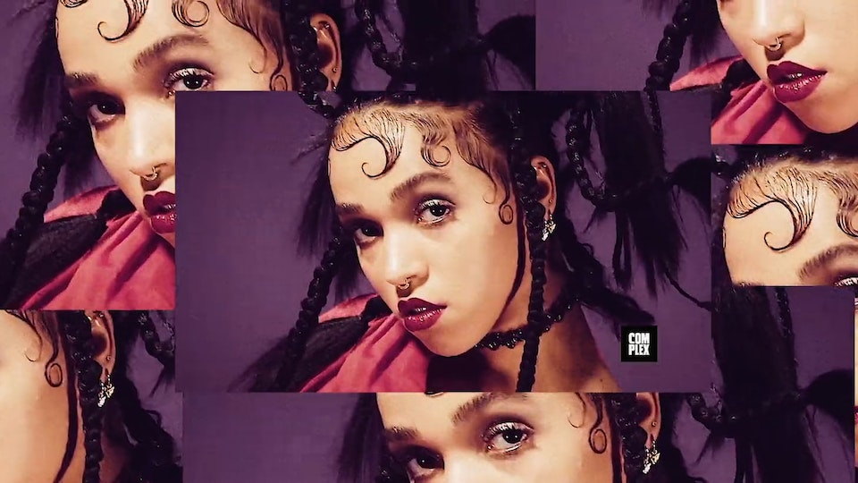 FKA twigs Complex Cover - Behind the Scenes