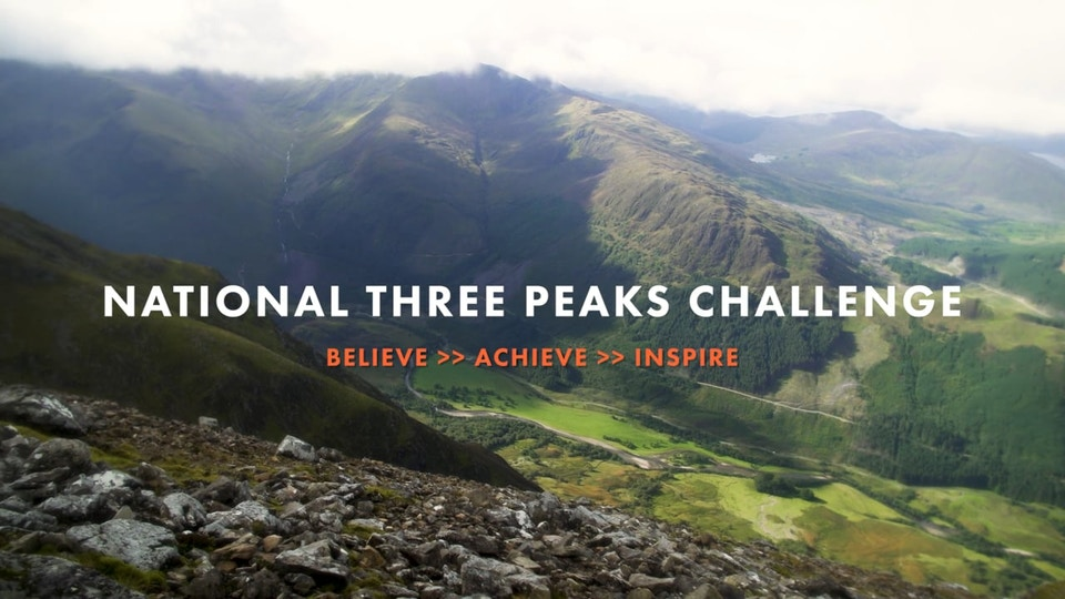 Charity Challenge   National Three Peaks
