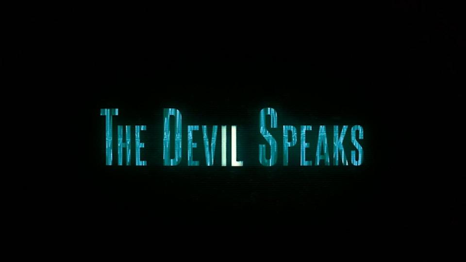 ID   The Devil Speaks