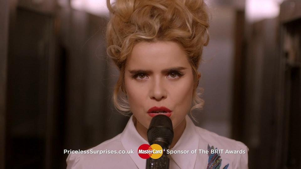 MasterCard Brit Awards Idents