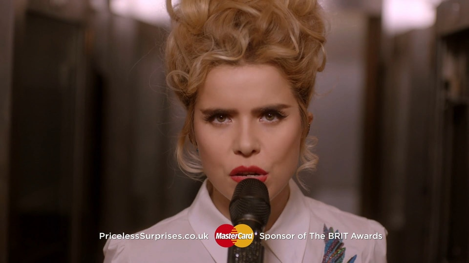 MasterCard | Brit Awards Idents