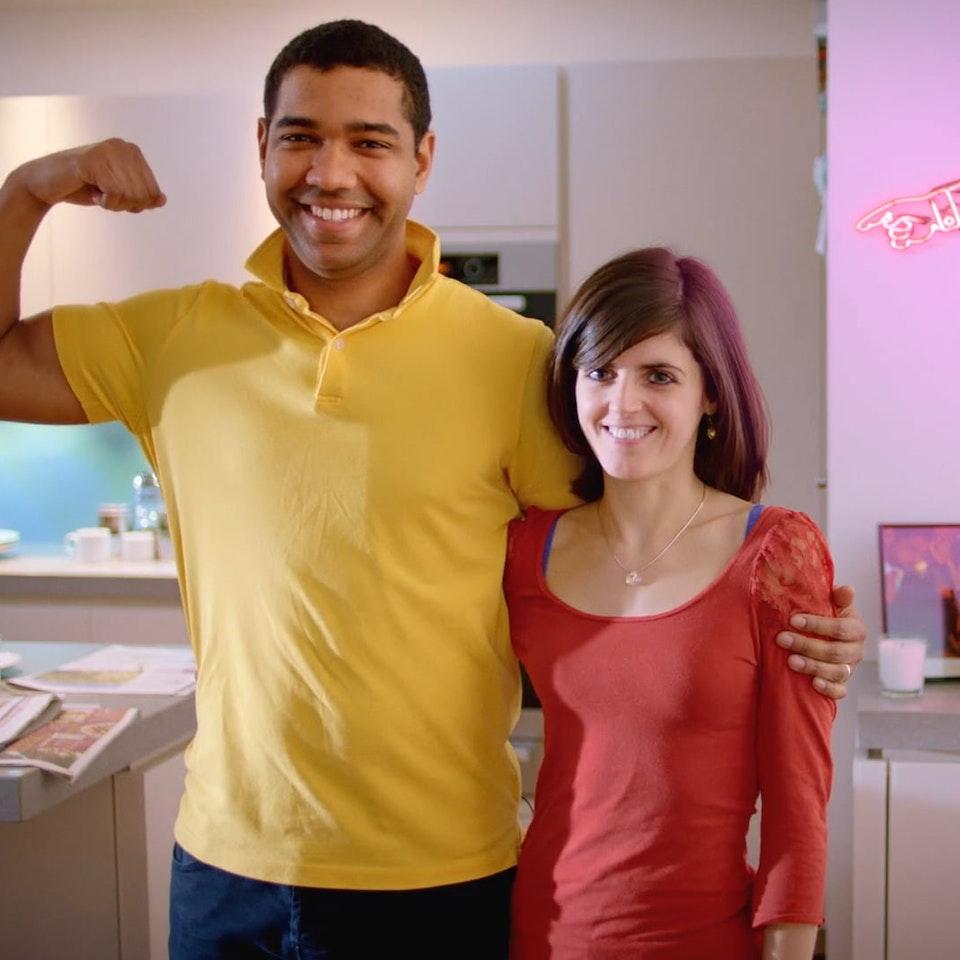 NPOWER Superpowers - John & Lizzy NPOWER Superpowers - John & Lizzy
