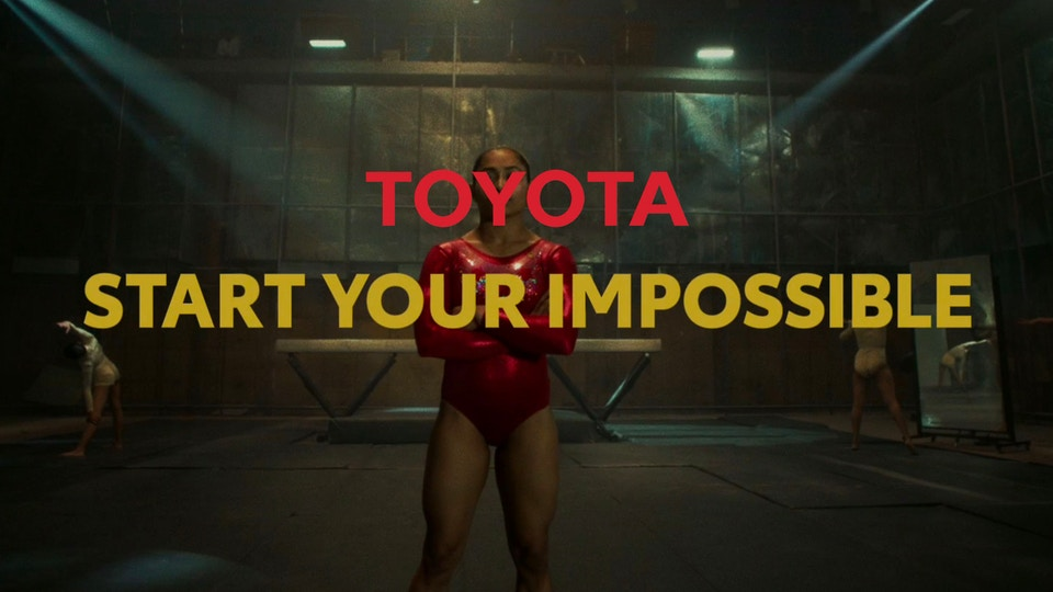 Dipa - Toyota - Start Your impossible // Olympics 2020