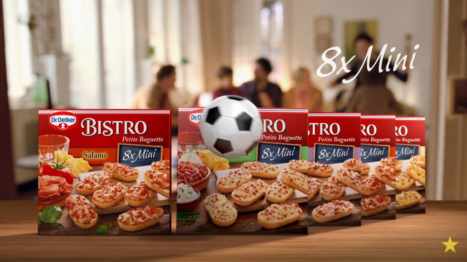 virtual republic – home of animation and visual effects - Dr. Oetker- Bistro Minis