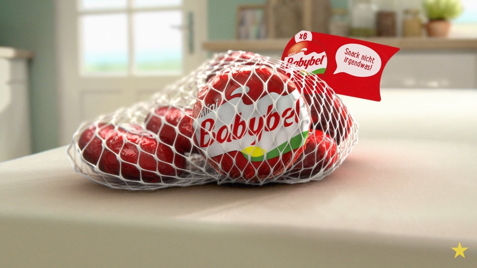 virtual republic – home of animation and visual effects - Babybel - Snack to School