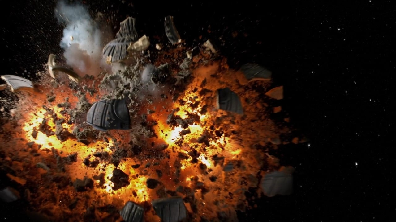 Death Star Cake Explosion