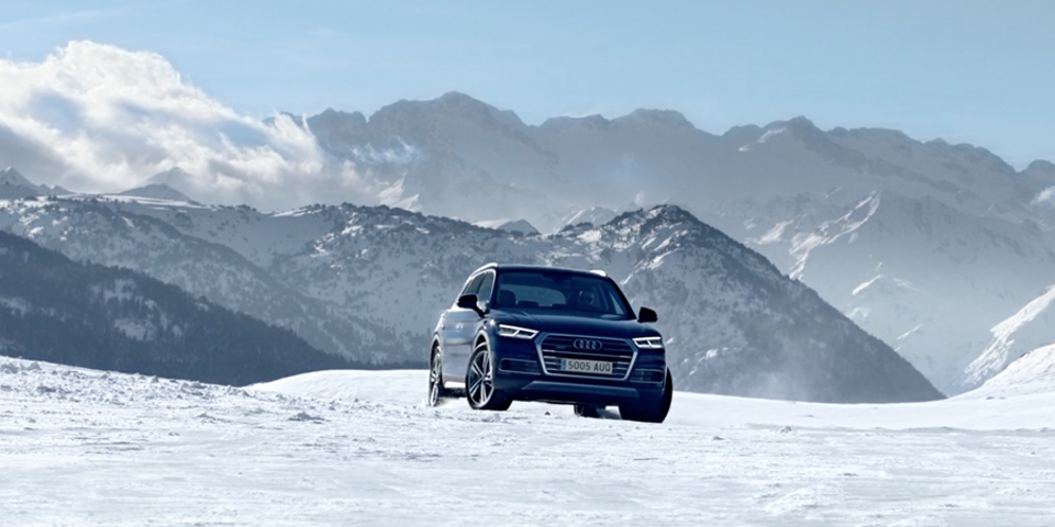 Audi - Winter Driving Experience'