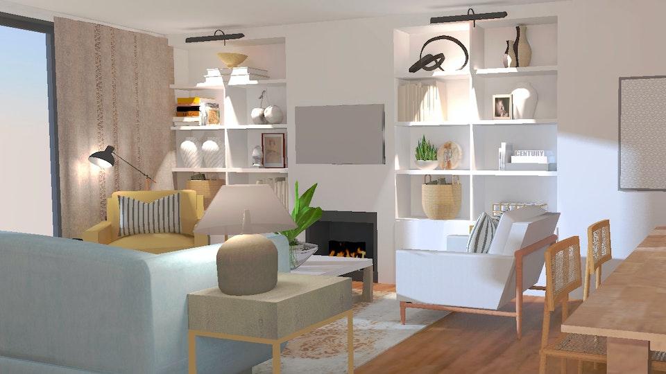 SOI HOME & STORE DESIGN - Sala estilo contemporâneo Lisboa