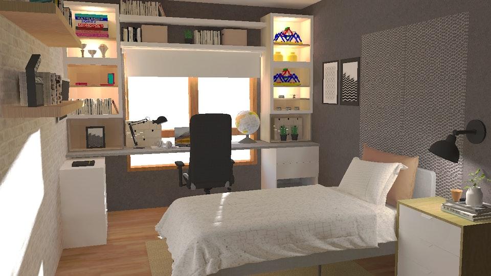 SOI HOME & STORE DESIGN - Quarto para jovem adolescente