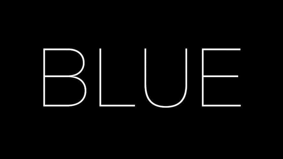 'BLUE' SHORT FILM 'BLUE' A short film by Stephen Kang