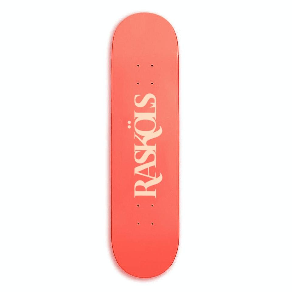 """RASKÖLS - Rasköls [8.5""""] Blood Orange Skateboard"""
