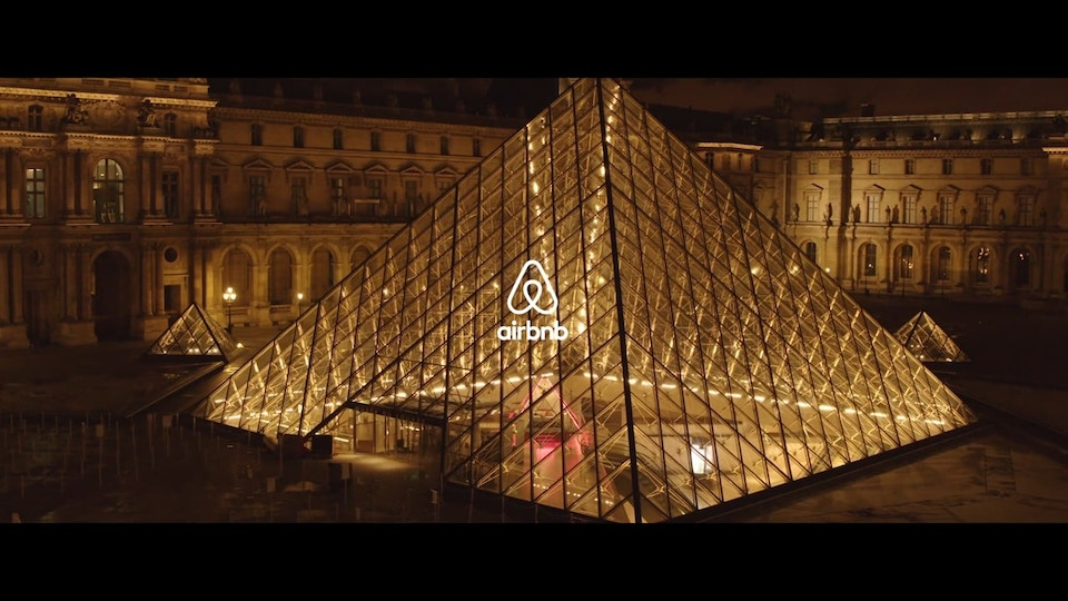 Airbnb - 'A night at' the Louvre