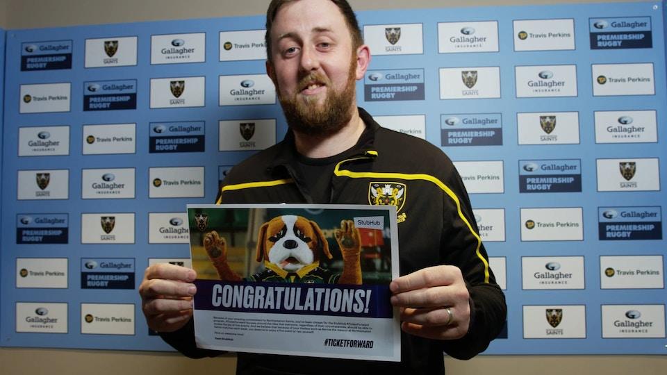 StubHuB x Northampton Saints