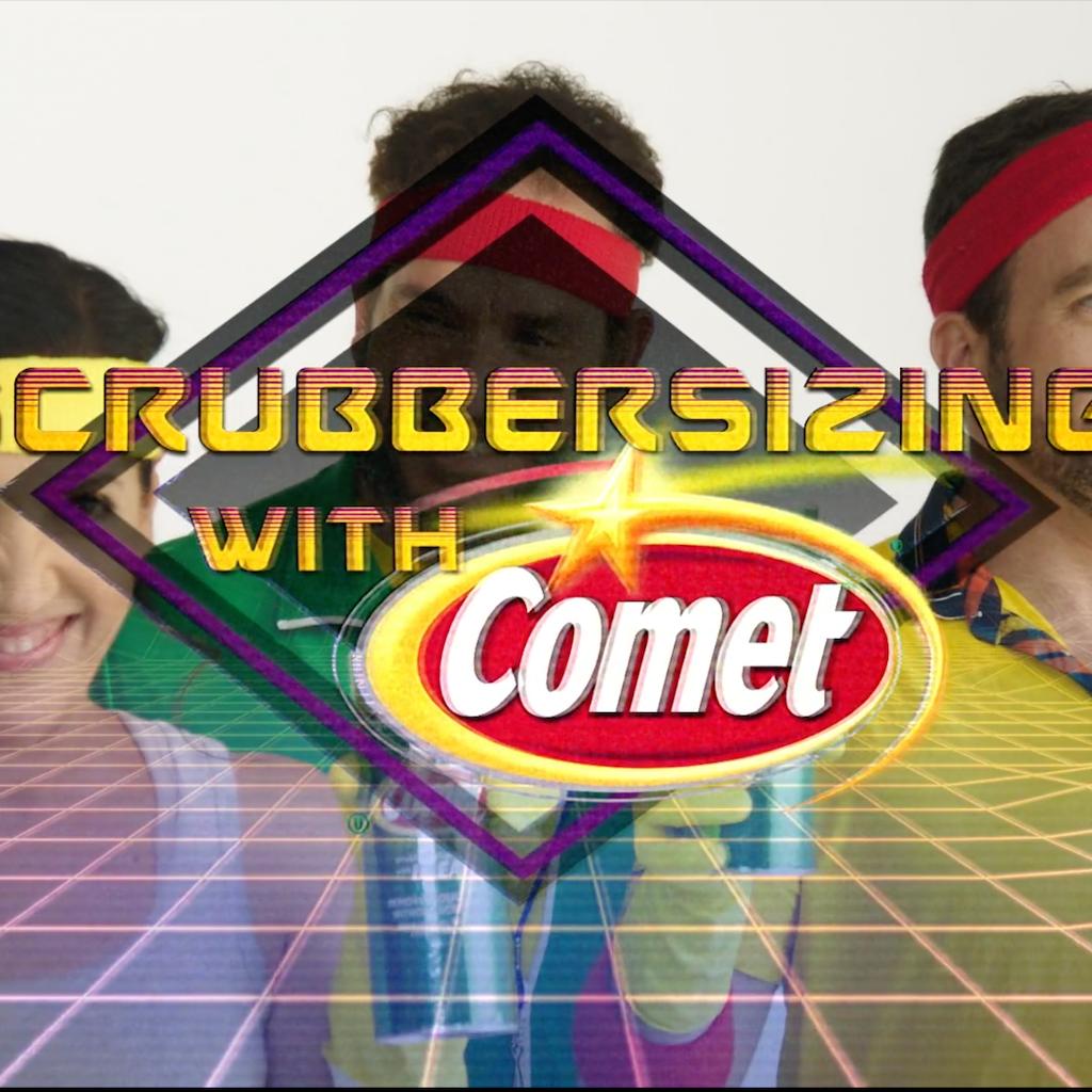 "Comet ""Bathroom Workout"""
