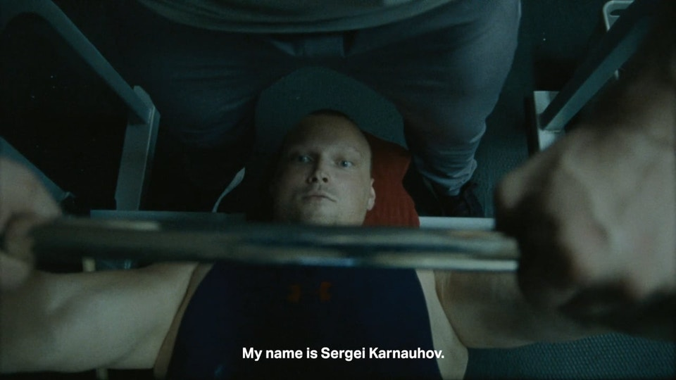 Under Armour - We Will. Sergei Karnauhov.
