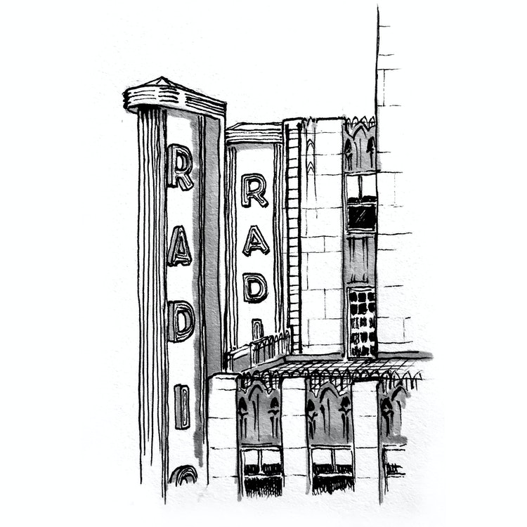 New York City - Radio City Music Hall 01