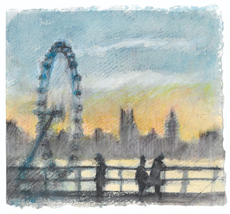 Travel - London 02 (Waterloo Bridge) MASTER
