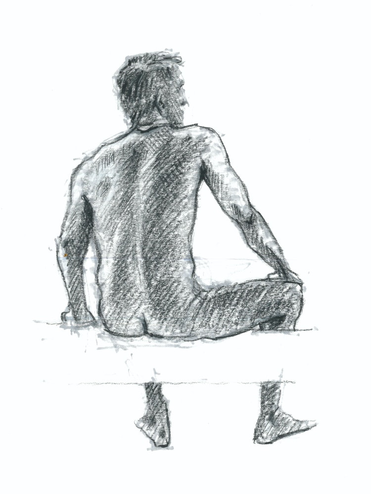 Figure Drawing - Ted 01