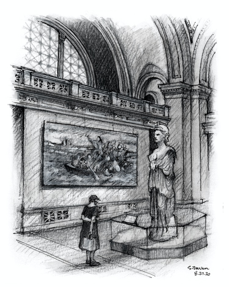 First Day Back at the Met: The Great Hall