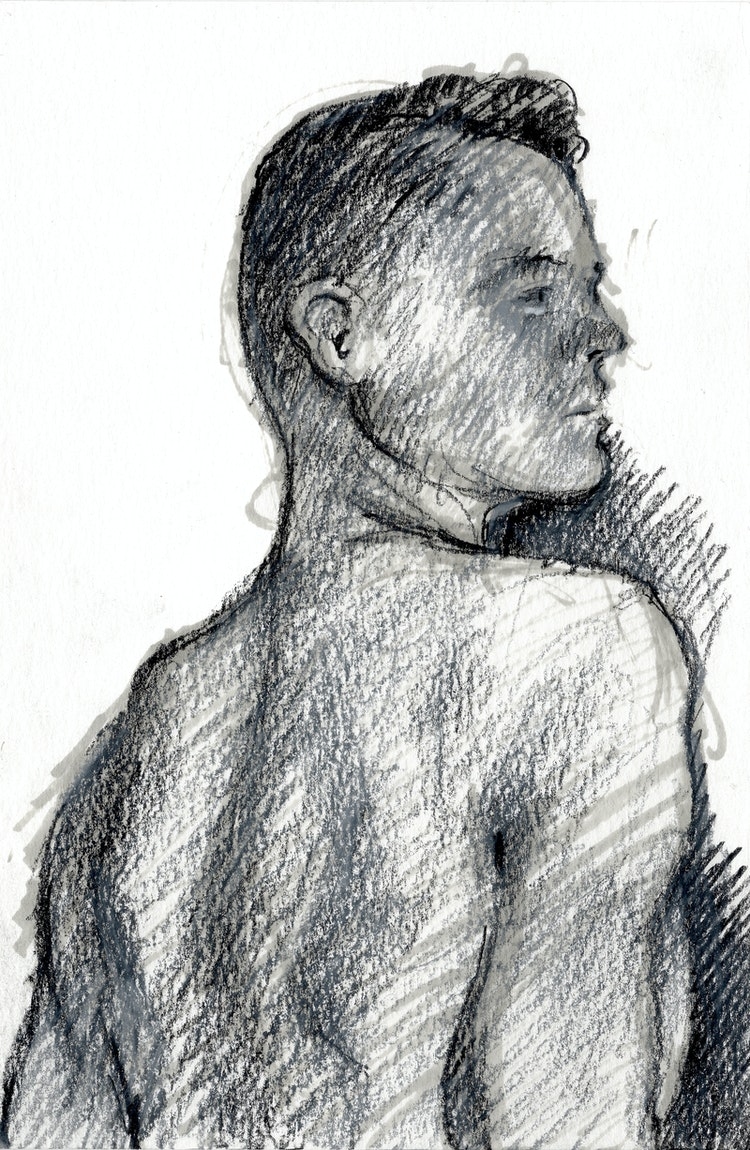 Figure Drawing - Taylor 03