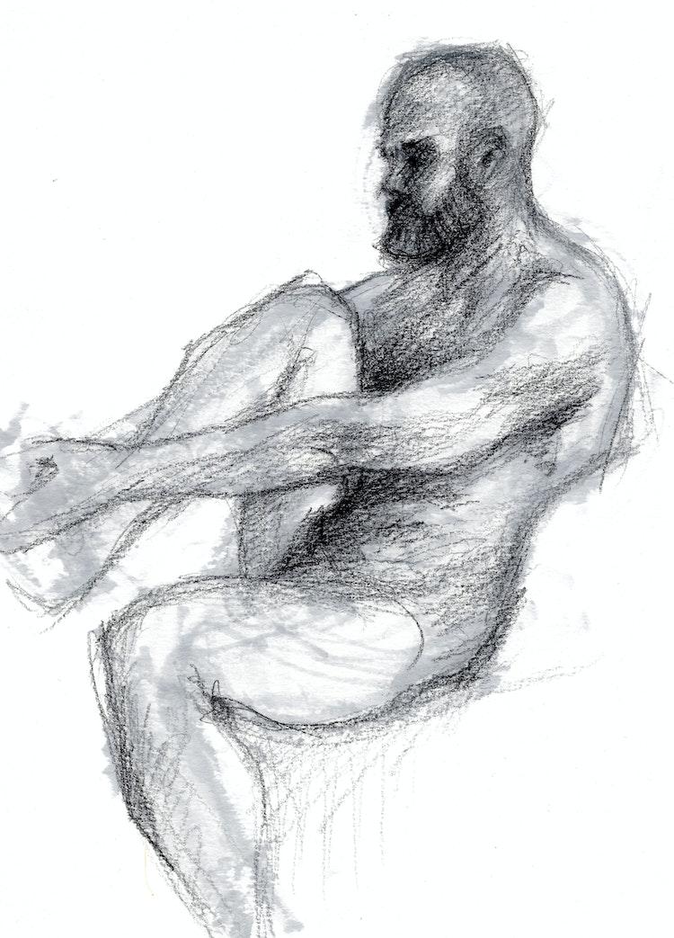 Figure Drawing - Tom 02