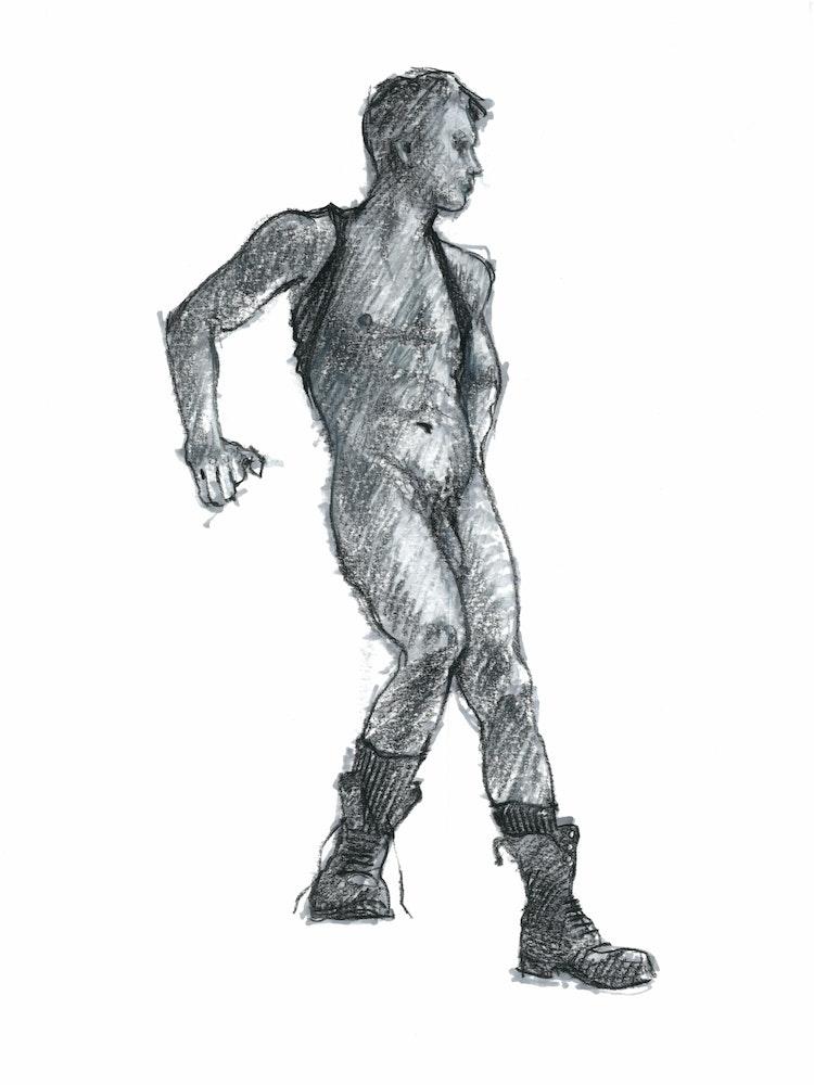 Figure Drawing - Dennis 03
