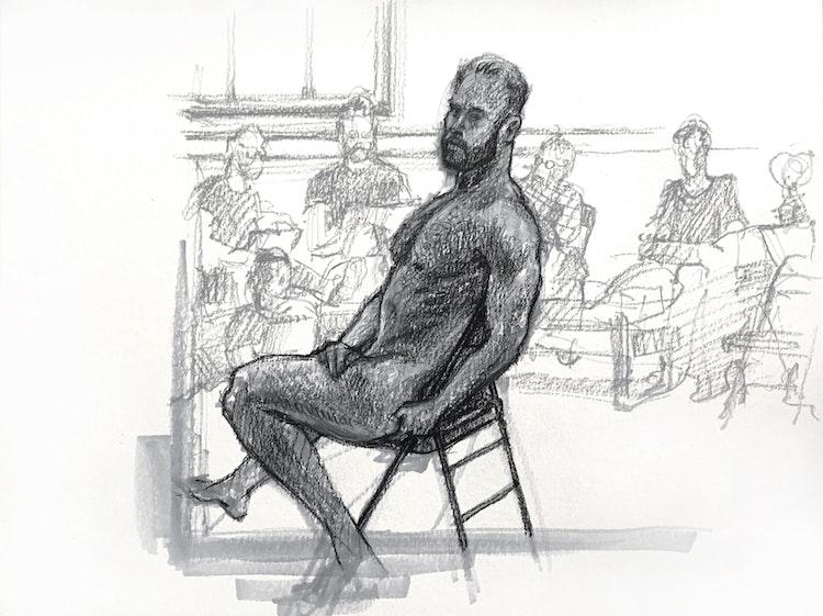 Figure Drawing - Logan 02