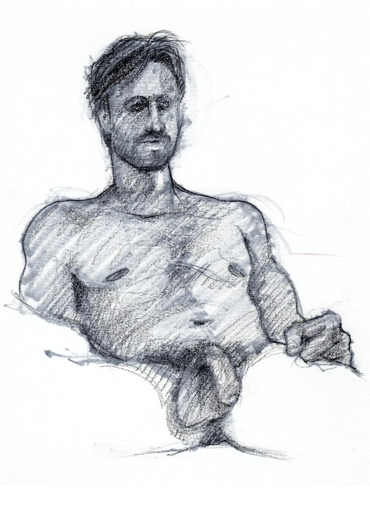 Figure Drawing - Craig 02