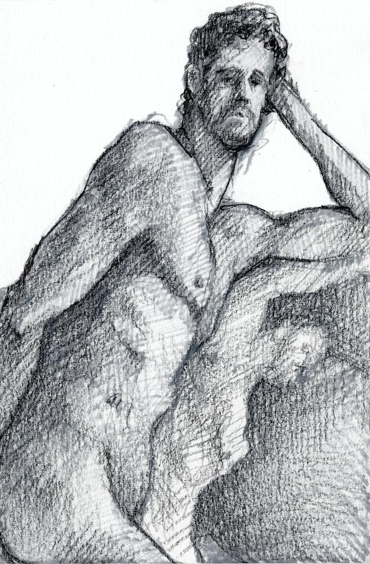 Figure Drawing - Danny 01