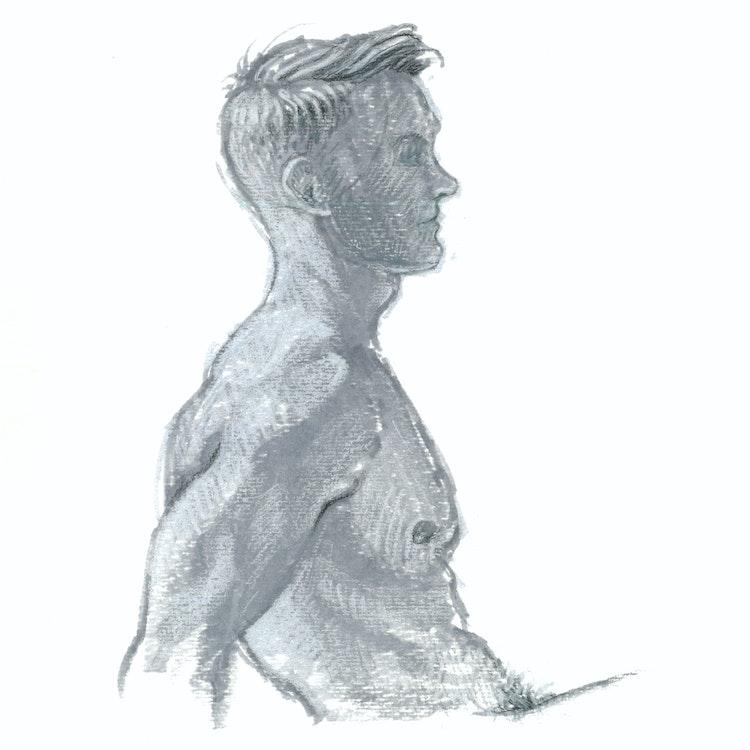 Figure Drawing - Kim 02