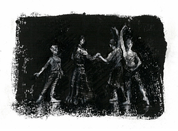 Phantom - Degas Rehearsal Rehearsal Monotype FINAL