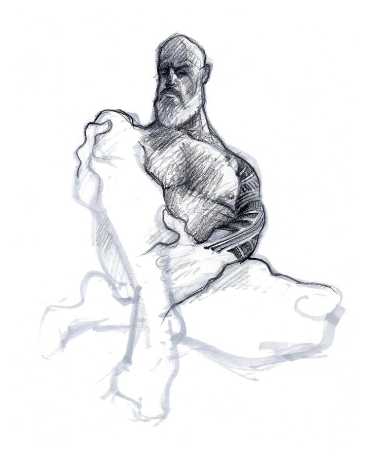 Figure Drawing - Sam 02 REVISED