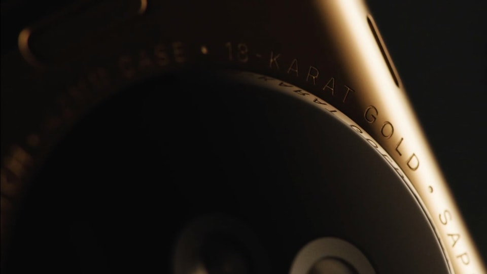 MATT CRONIN - APPLE WATCH ~ GOLD ~ directed by Dan Tobin Smith