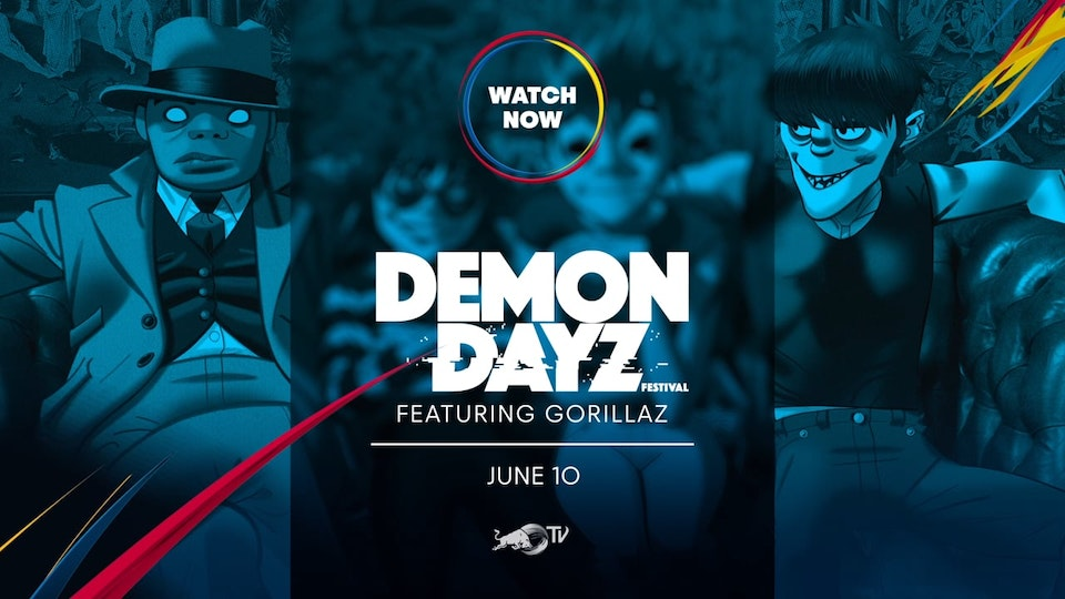 MATT CRONIN - Red Bull Tv - Demon Dayz featuring Gorillaz