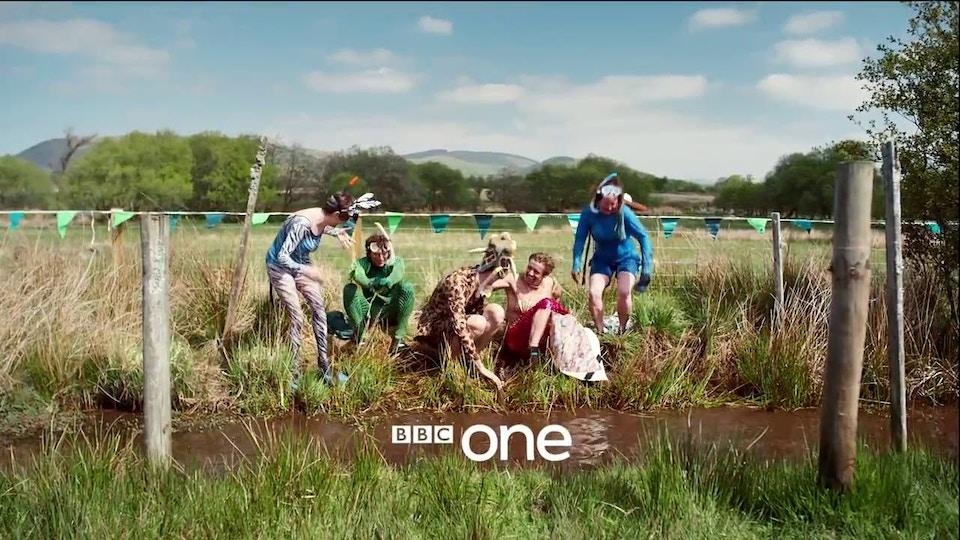 BBC One 'ONEness' (Bog Snorkelers) | Martin Parr | BBC Creative