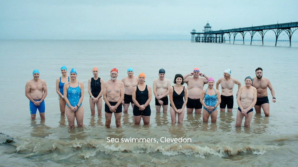 BBC One 'ONEness' (Bathers) | Martin Parr | BBC Creative