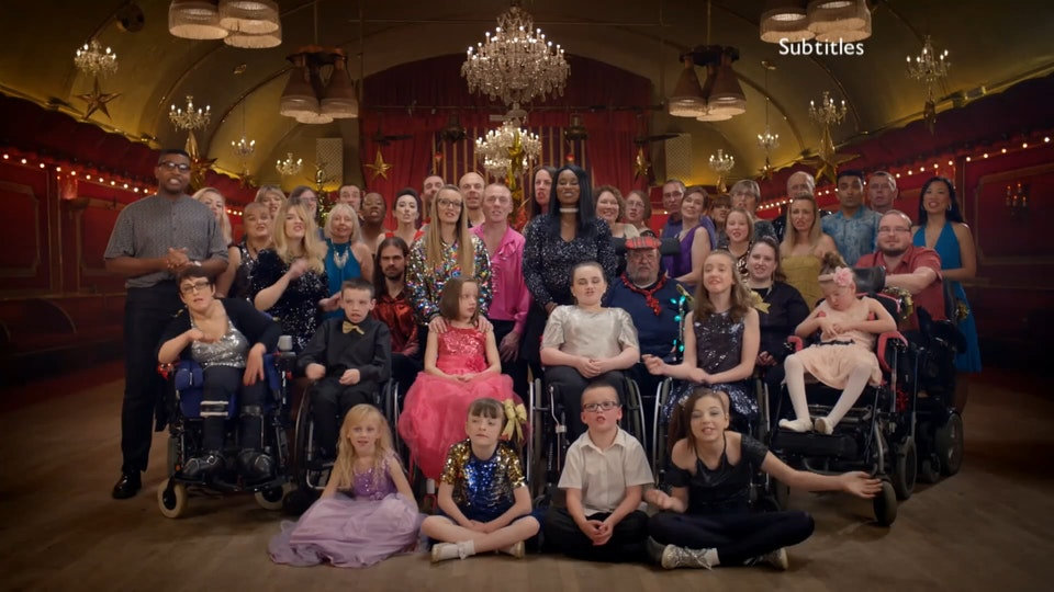 BBC1 Christmas Day Idents 'Strictly' | Liz Unna | Independent Films