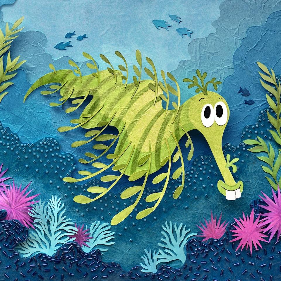 Leonard the Leafy Sea Dragon