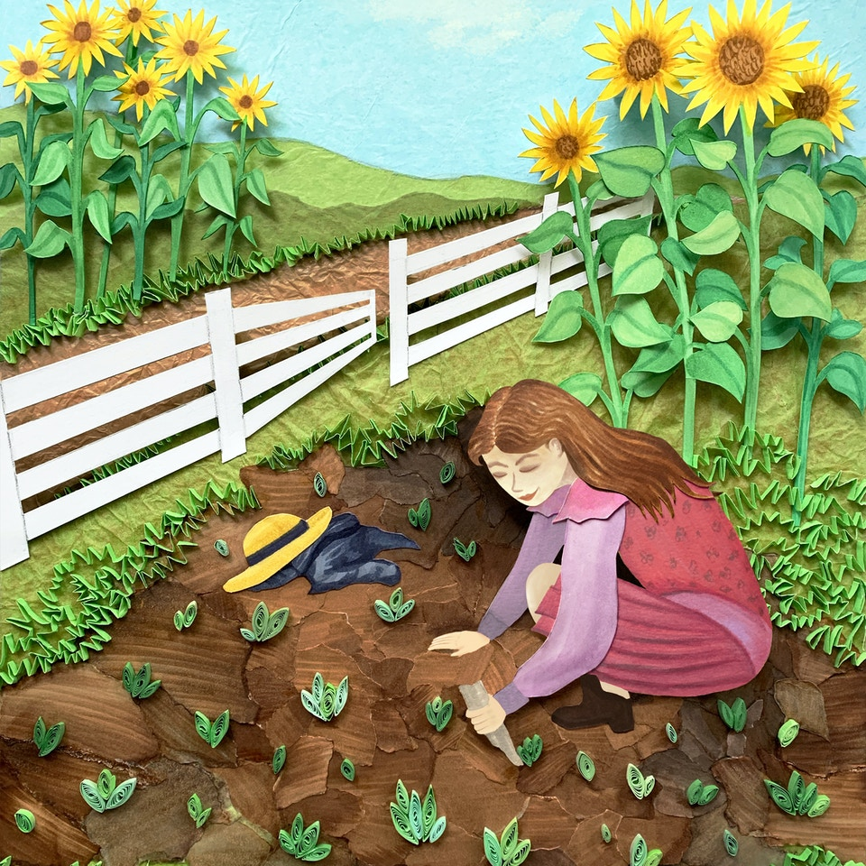 A Lovely Day for Gardening